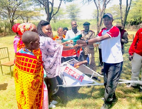 Remote Maasai Village: Motorbike Ambulance for Birthing & Emergencies