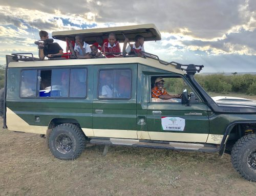 A Different Breed of Tourists – Maasai children!